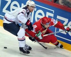 Сборная США обыграла белорусов со счетом 5:3