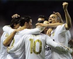 """Мадридский """"Реал"""" обыграл в перенесенном матче 20-го тура Атлетик из Бильбао, что позволило каталонскому клубу стать чемпионом Испании 2011/12"""