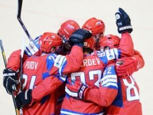 В рамках чемпионата мира по хоккею сборная России обыграла сборную Германии со счетом 2:0