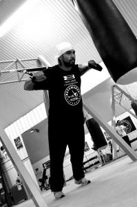 Дэвид Хэй использует петли TRX в своей тренировочной программе для подготовки к боям