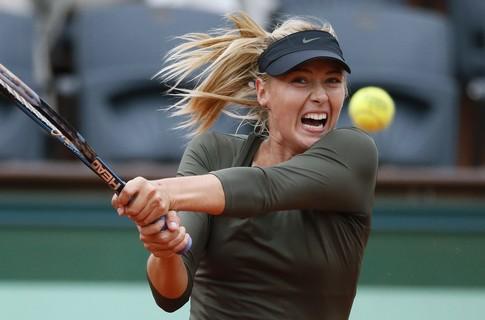 Мария Шарапова вышла в четвертьфинал чемпионата Roland Garros