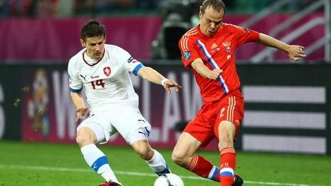 Сборная России разгромила сборную Чехии со счетом 4:1