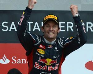 Австралиец Марк Уэббер взял Гран-при Великобритании