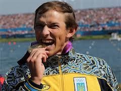 Украинский каноист Юрий Чебан финишировал первым, завоевав для украинской сборной золотую медаль