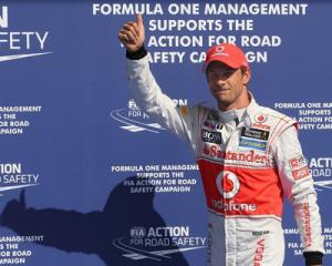 Гран-при Бельгии выиграл представитель команды Мак-Ларен Дженсон Баттон