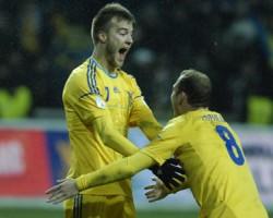 Украина - Молдова 2:1