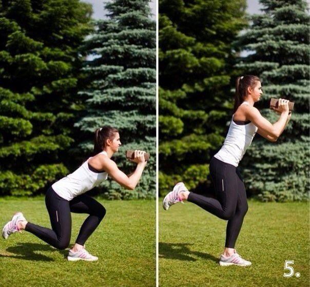 Круговая тренировка ног и ягодиц для женщин