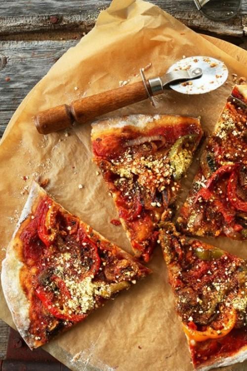 Пицца для веганов