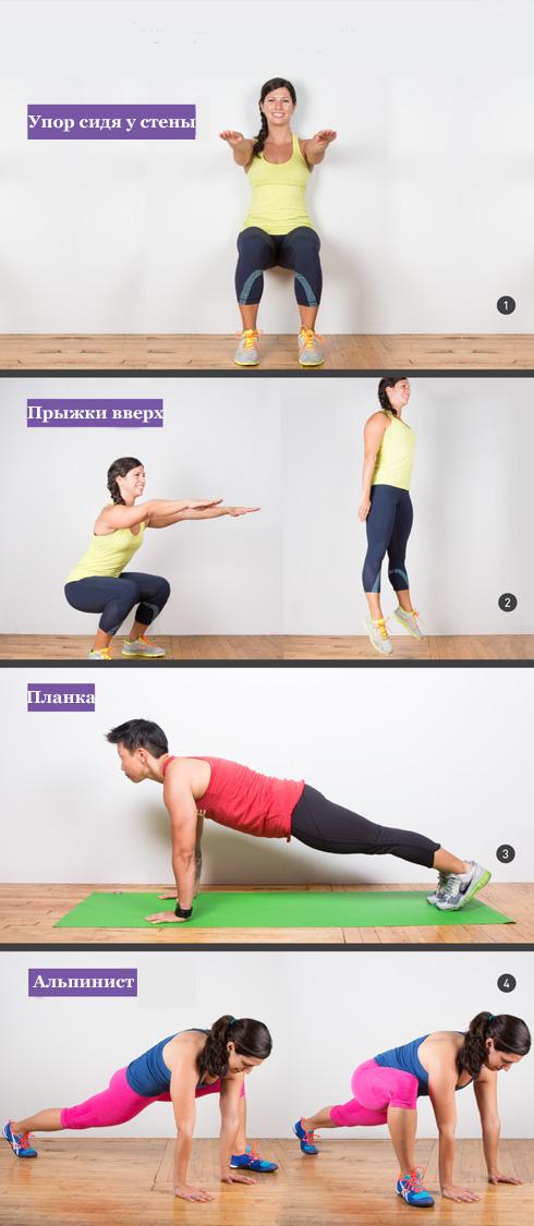 4 высокоинтенсивных упражнения для мышц кора