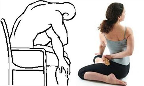 Растяжение ромбовидной мышцы