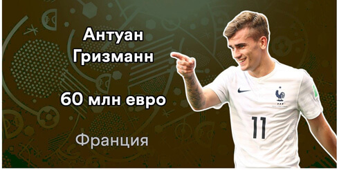 Антуан Гризманн. 14 самых дорогих футболистов Евро-2016