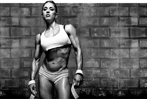Тренируйтесь для наращивания мышц