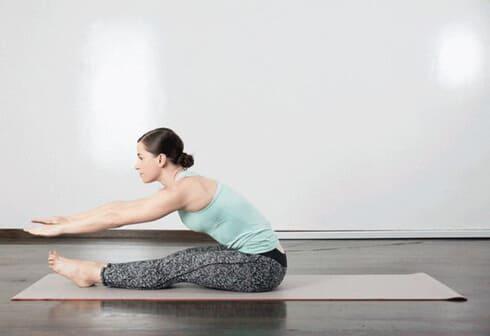 Скручивания с растяжкой спины